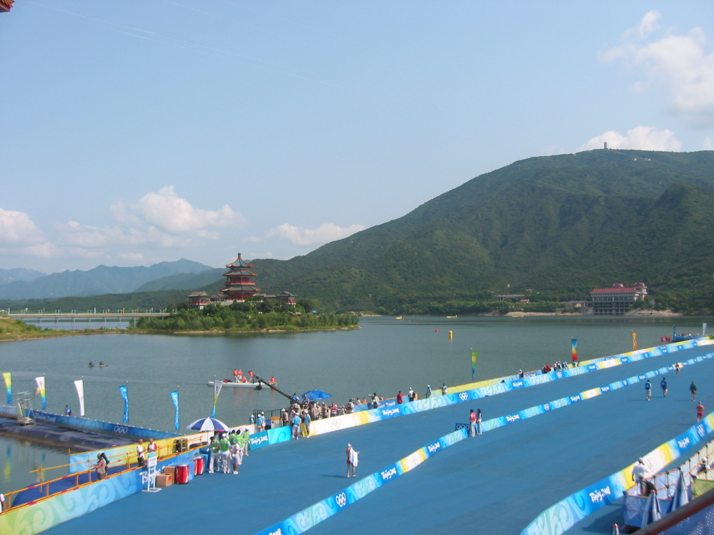 Beijing triathlon venue